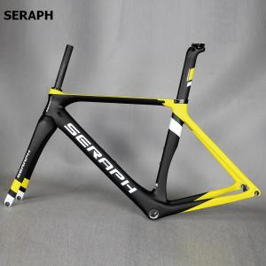 OEM Factory Direct Sales Bike Frame, Chinese Aero Carbon Frame Road Bike , SERAPH brand complete bicycle frame . accept paint