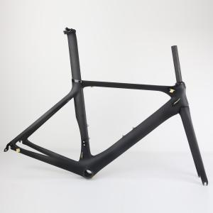 chinese 700c 2018 new BB86 carbon road frame SERAPH brand bicycle frame FM286 aero road frame