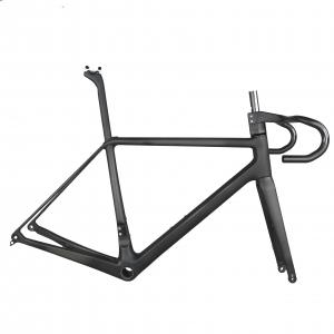 Tantan carbon frame new T1000 light weight carbon road disc bike frame bicycles full internal cables FM639