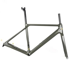 FM009 disc road bike frameset T1000 toray carbon frame