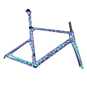 High Modulus Toray T800 Carbon Fiber Aero bicycle frames superlight BB86 max tire 28C