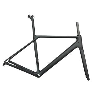2019 FM009 Newest Flat Mount disc carbon road frame road disc brake bike carbon frame axle design disc carbon superlight frame