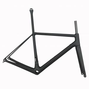 2019 SERAPH new Disc road carbon frame . bicycle frameset include carbon fork carbon seatpost silver color tantan factory