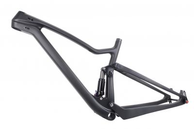 Enduro Bikes 2017 29er Full Suspension Carbon Mountain Bike Frame fs029 XC Cross country Carbon Mtb Frame of 29er