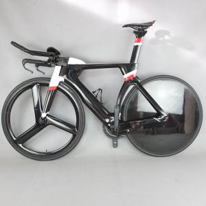 700C Complete Carbon Bike TT Bicycle Time Trial Triathlon Full Carbon Fiber Frame with DI2 R8060 groupset