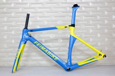 TANTAN company customized paint new road bike carbon frame carbon road frame TT-X1 , OEM products aerodynamic bicycle frame