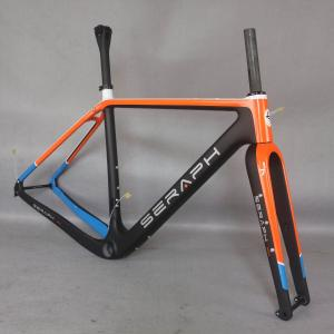 2021 Carbon Fiber All Internal cable Gravel Bike Full Carbon Gravel Bicycle Frame 700*45c cyclocross GR041
