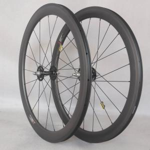fixed gear wheels novatec hubs track bike 50mm Clincher Carbon wheels fixed gear wheels 700C wheelset fixie bike