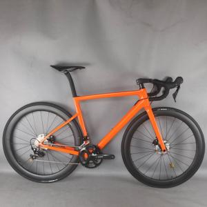 2021 Disc Carbon Road bike Complete Bicycle Carbon with SH1MANO R7020 groupset carbon wheels