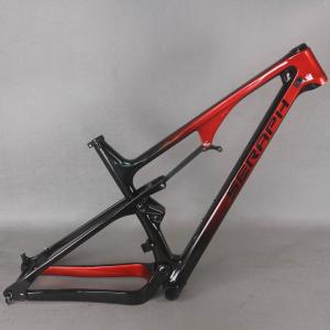 Full Suspension MTB carbon frame XC mountain carbon framset BB92 seraph FM038 bike frame