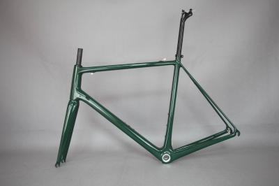 Free shipping DI2 groupset bike carbon frame , wholesale T1000 super light bicycle frame . accept cutom paint bicycle .