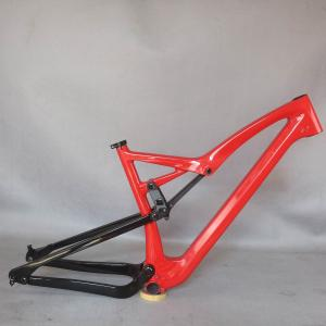 2022 Full Suspension ALL Mountain bicycle Frame carbon fiber MTB frame FM10 disc brake post accept custom painting