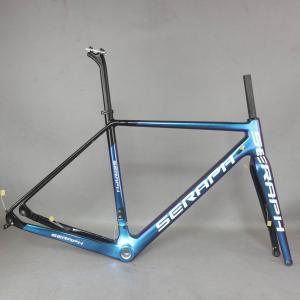 Chameleon Full Carbon Fiber Gravel Bike Frame GR029 , Bicycle GRAVEL frame factory deirect sale CUSTOMIZED PAINT frame MEN frame