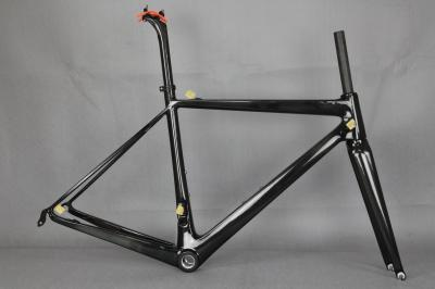 2017 Light Carbon hot sale 700C road bike super light carbon frame BSA racing frame+fork+seat post+clamp