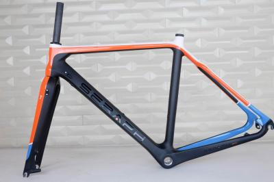 SERAPH brand Disc Brake cyclocross carbon frame,disc cyclocross frame , SERAPH brand new painting