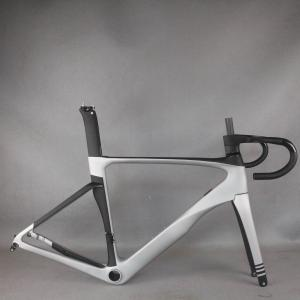 Silver plating new All inner cable disc carbon road frame Bicycle Frameset EPS technology disc carbon frame TT-X22