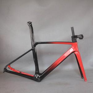 custom paint new disc carbon road frame Bicycle Frameset T1000 New EPS technology disc carbon frame TT-X24