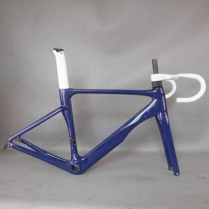 custom paint new All inner cable disc carbon road frame Bicycle Frameset EPS technology disc carbon frame TT-X22