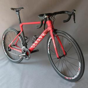 Taiwan toray carbon road bicycle carbon whole bike complete TT-X1 custom painting frame