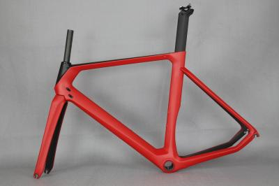2017 carbon bicycle frame carbon road frames carbon frameset BB86/BSA frame , aero road bike frame accept paint .