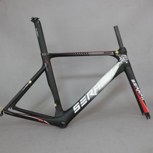 Tantan factory SERAPH new carbon road bike frame FM268 bicycle frame set with seatpost,Di2 bicycle frame