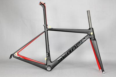 T1000 super light carbon bicycle frame . New 2017 Super Light Di2 Compatible OEM Carbon Road Bike Frames, SERPAH frame