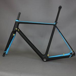 Toray Full Carbon Fiber Gravel Bike Frame GR029 , Bicycle GRAVEL frame factory deirect sale CUSTOMIZED PAINT frame MEN frame
