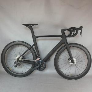 2021 Disc Carbon Road bike all inner cable Complete Bicycle Carbon with SHiMANO R8070 DI2 groupset DT350 hubs wheel .