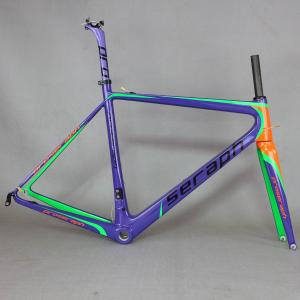 SERAPH custom paint bike carbon road frame Carbon Fiber bicycle Frame,T1000 Bicycle Carbon Frame FM686 new EPS technology