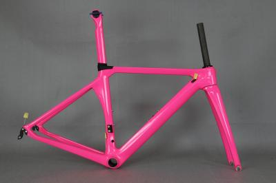custom paint aerodynamics road bicycle carbon frame . aero bike frame oem factory directly sale