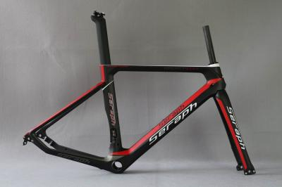 2018 SERAPH carbon frame flat mount disc carbon road frames carbon frameset BB86 frame Thru axle front and rear ,
