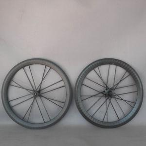 full carbon wheelset road bicycle wheeslet 700c wheelset integrated spokes front*16h rear*20h