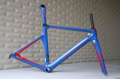 TT-X1 client customized paint show . aero road carbon frame