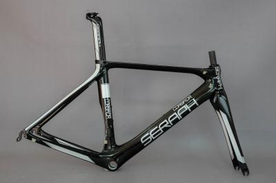 EN Quality china Carbon Road Bike Frame+Fork+Seat Post Clamp, Carbon Bicycle Frame no custom fee frame
