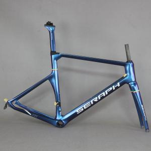 Chameleon painting Aero Race Carbon Road Frame Carbon Road Racing Frame TT-X1 , carbon frame SERAPH BIKE
