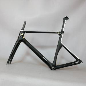 custom paint Aero Race Carbon Road Frame small size for girl Carbon Road Racing Frame TT-X1 , Aerodynamic carbon frame
