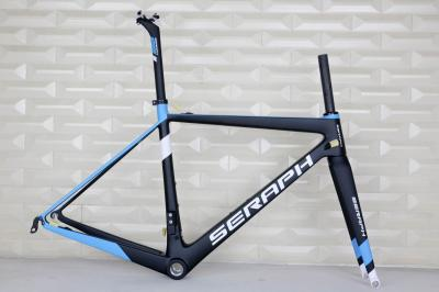 SERAPH BIKE 2017 Super LightCarbon 700C road bike T1000 carbon frame BSA internal stiff champion racing . accept paint carbon